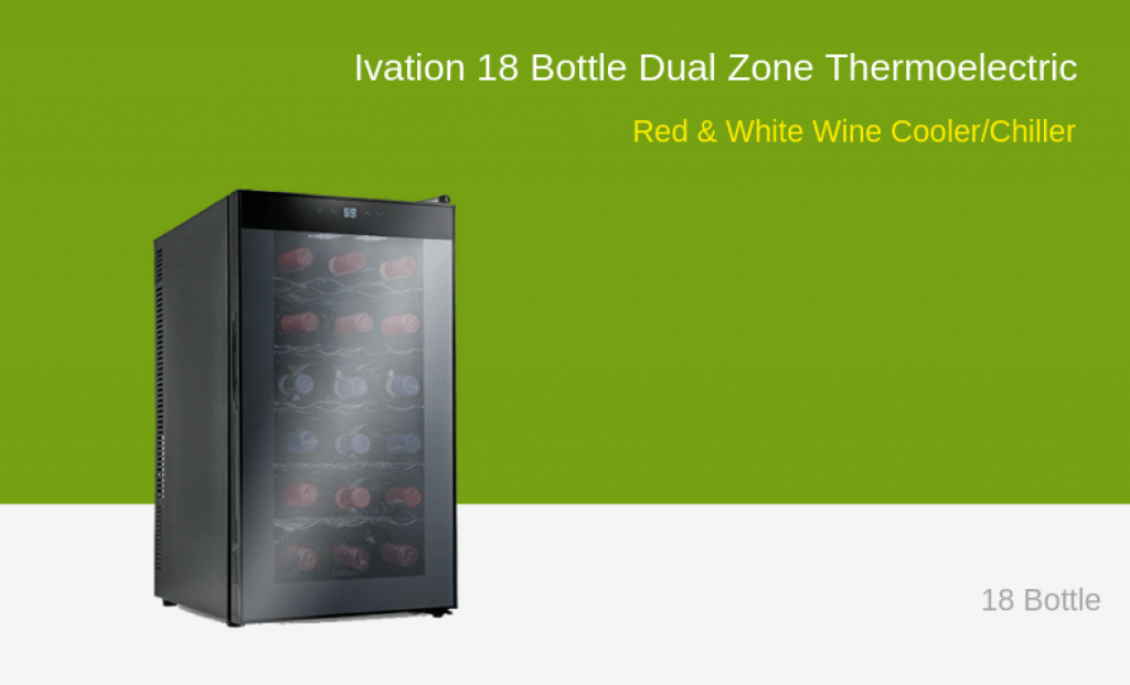 Ivation 18 Wine Cooler