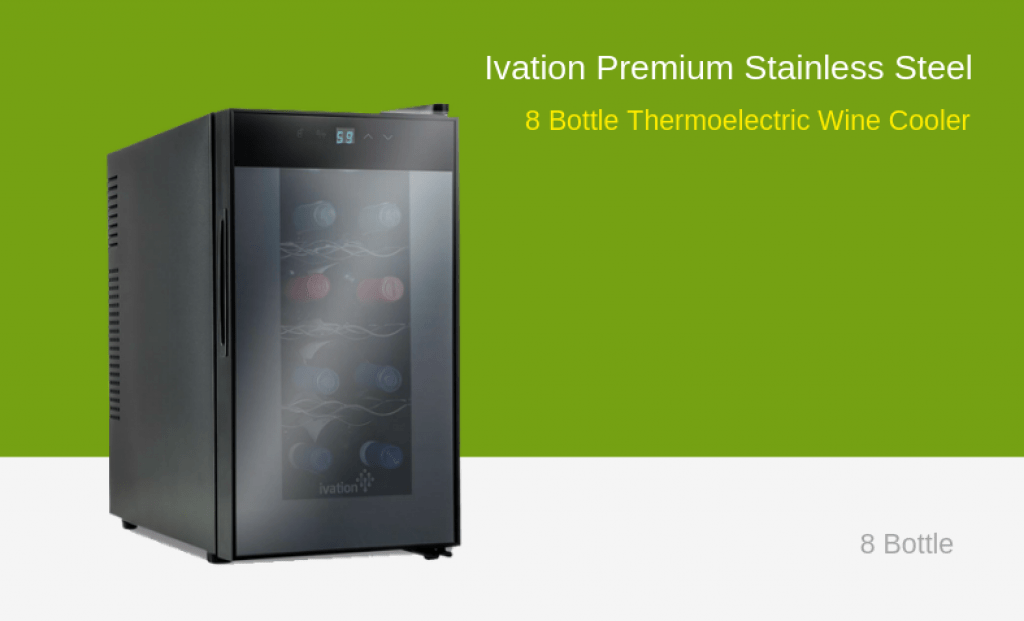 Ivation 8 Bottle Wine Cooler