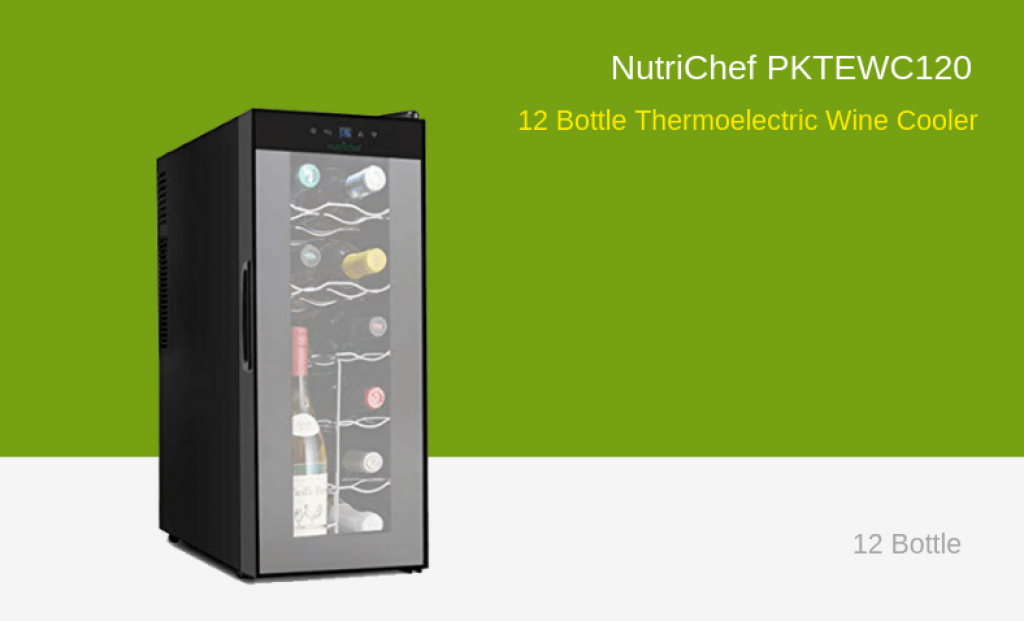 NutriChef Wine Cooler